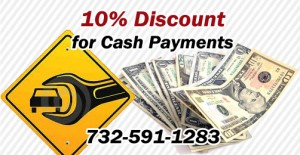 10% Discount For Cash Payment!